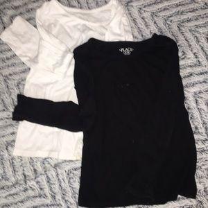 NWOT set of two long sleeve tees snug fit